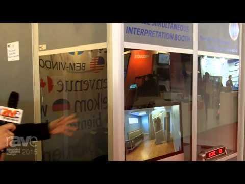 ISE 2015: Multi-Caisses Details the Congress Mobile Simulteneous Interpretation Booth