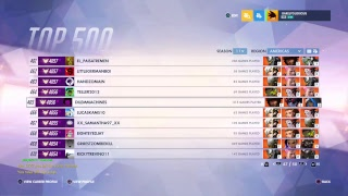(PS4) Low Tier Top 500 | Overwatch Competitive Gameplay (Live Stream) {Season 11}
