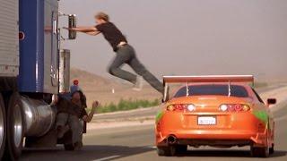 FAST and FURIOUS - Truck Chase (Civics & Supra vs Peterbilt)  #1080HD