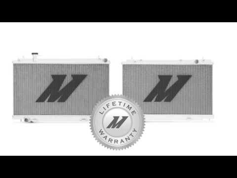 Nissan 350Z Performance Aluminum Radiator Features & Benefits by Mishimoto
