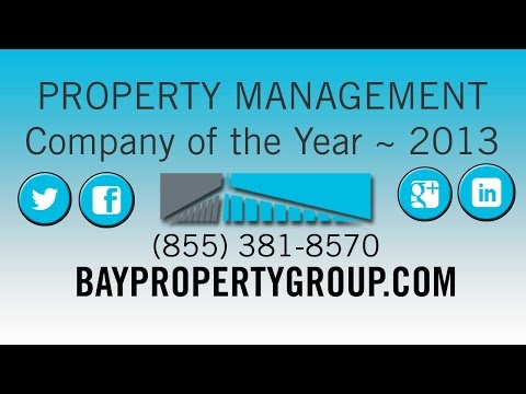 Bay Property Group Awarded - Property Management Company of the Year by EBRHA ~ 2013