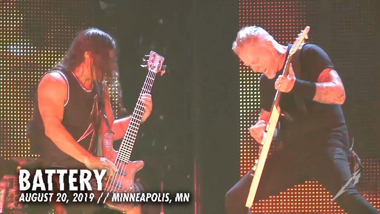Metallica: Battery (MetOnTour - Minneapolis, MN - 2016)
