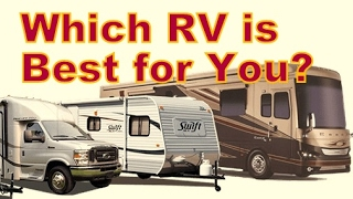 How to Choose Which Type of RV is Best for You?