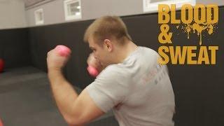 Бокс. Тренировка взрывной силы и анаэробной выносливости. Explosive strength and aerobic endurance.
