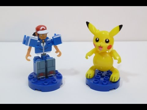Rob A Reviews Ionix Pokemon Building Sets Ash & Pikachu