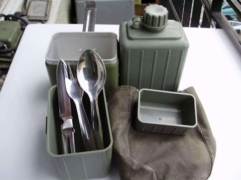 Yugoslavian Mess Kit - Military Surplus Preview - The Outdoor Gear Review