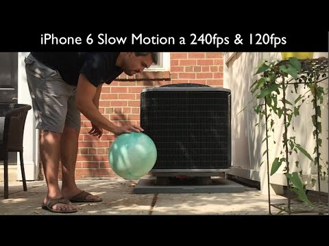 iPhone 6 Slow-motion 240fps & 120fps