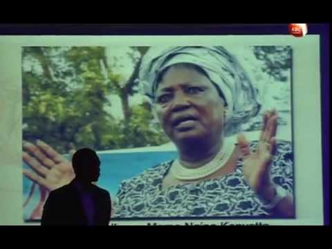Mama Ngina recognized among Africa's top 15 foremost heroines