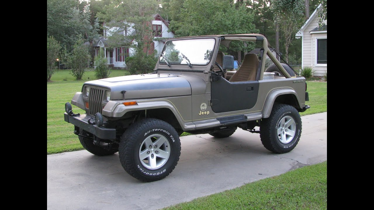 Jeep Yj Rubicon Express 2 5 Quot Standard Suspension