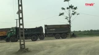 Huyện Khoái Châu (Hưng Yên): Xe quá tải đại náo, cày nát nhiều tuyến đường