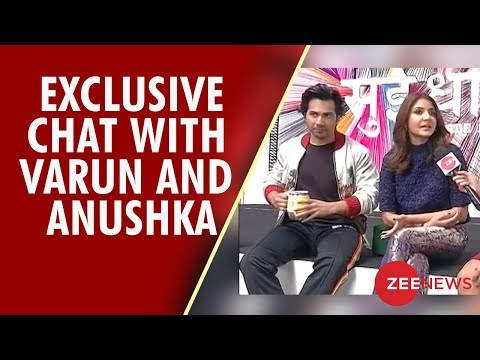"Zee News Exclusive interview with ""Sui Dhaaga"" stars Anushka Sharma and Varun Dhawan"