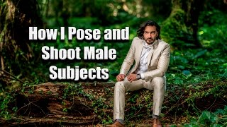 How I Pose and Shoot Men- Male Photography Groom Shoot in the Maui Rainforest by Jason Lanier