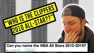Trying To Name EVERY NBA All-Star From 2010-2015 | NBA Trivia