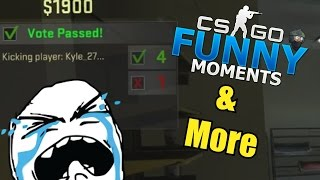 IT HAPPENED AGAIN!!- CS GO Funny Moments & More in Competitive