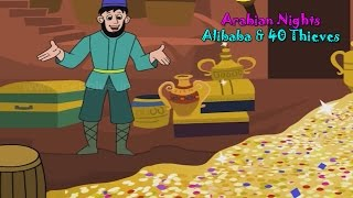 Alibaba & Forty Thieves | Arabian Nights in Bengali | Bengali Stories For Kids HD