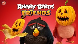 ANGRY BIRDS FRIENDS | Halloween Tournament | Little Crops Of Horor Three Star Game Walkthrough