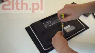How to replace a Keyboard on a laptop HP Pavilion DM3 1010EW, remove keyboard notebook