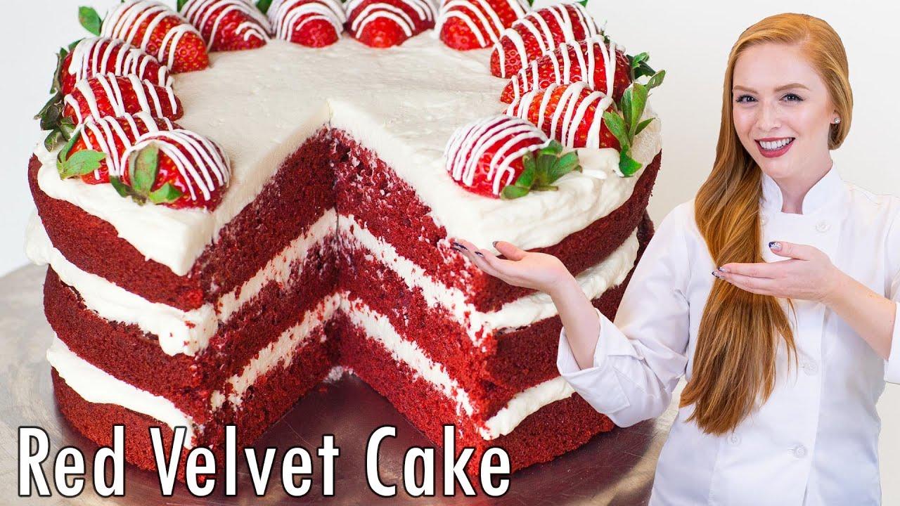 Красный бархат торт рецепт пошагово в домашних условиях на 3 яруса