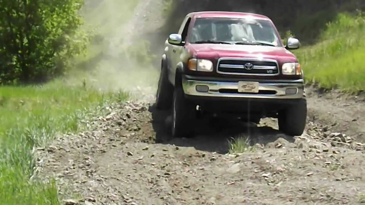 2002 Toyota Tundra Wheelin - YouTube