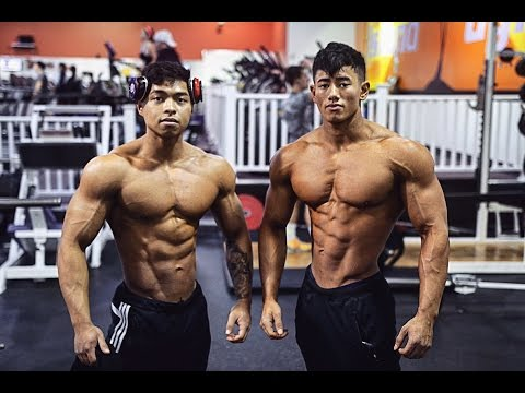 Steven Cao Road to Pro: 7 Weeks Out Nationals Chest Workout w/ Darren Carrillo