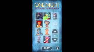 One Night Ultimate Werewolf - the App