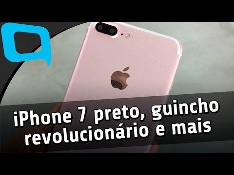 """iPhone 7 preto, guincho revolucionário, """"Salto de Fé"""" e mais"""