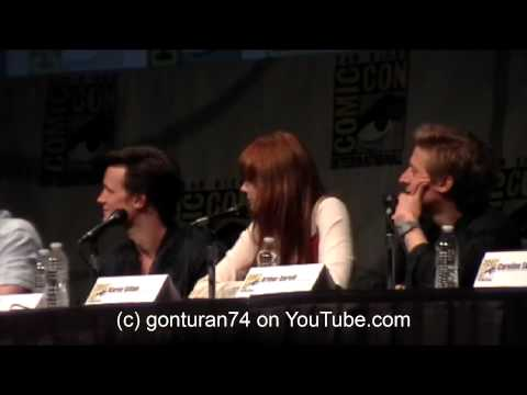 SDCC 2012 BBC America's Doctor Who FULL Panel Sunday July 15th