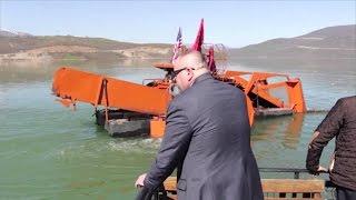 A1 Report - Kukës, ndotja me mbetje urbane e liqenit nis puna për pastrimin e tij