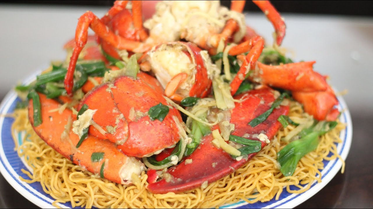 Stir-fry Lobster with Ginger and Scallions (Tom Hum Xao Hanh Gung) - YouTube