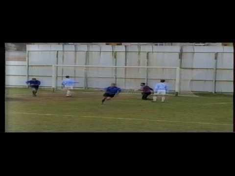 First MFL Season 1997-98 ,,Zelezarnica'' Skopje Goalscorer: N.Memedi.