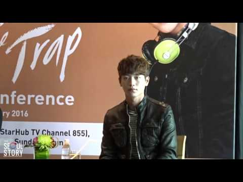 160219 Seo Kang Jun Media Conference in Singapore