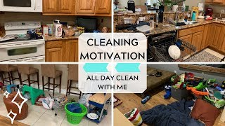 Cleaning Motivation! All Day Clean with Me! Actually Messy House