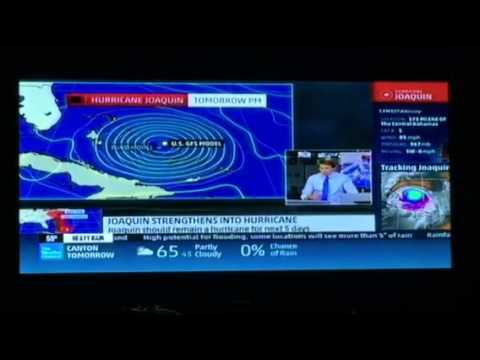 Hurricane Joaquin - Weather Channel