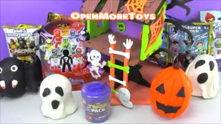PLAY DOH Haunted Tree House Halloween Surprise Eggs and Blind Bags
