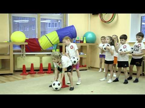 Один день из жизни детского сада. Спортивные соревнования. СПб.
