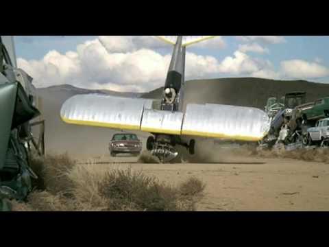 Charley Varrick (1973) - Car Vs Plane (end Scene)