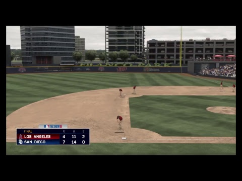 MLB 16 The Show-2018 Spring Training LA Angels of Anaheim at San Diego