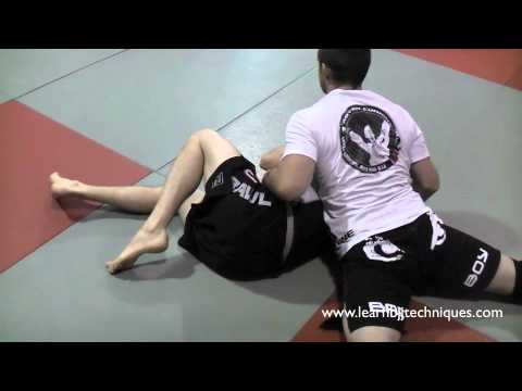 How to Transition From Top Side Control to Back Mount - Grappling, MMA, Brazilian Jiu Jitsu