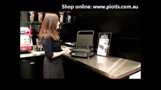 Silex Grills - Silex Kitchen Genius Grill Demonstration