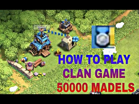My Clash of Clans clan game live Stream