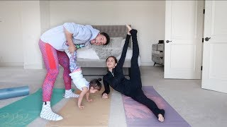HILARIOUS FAMILY YOGA CHALLENGE!!!
