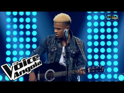 "Alcides de Carvalho interpreta ""O Carla"" / The Voice Angola 2015 / Show ao Vivo 2"