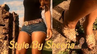 Style By Sheena: How To Style Cape Robbin Leopard Mules Ft. Music By Megan Thee Stallion