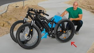 How to Build an Off Road Wheelchair (From 2 Electric Bikes)