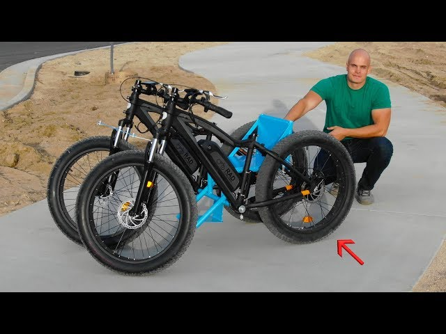 How to Build an Off Road Wheelchair From 2 Electric Bikes