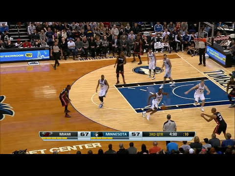LeBron James' Near Triple-Double Against the Timberwolves