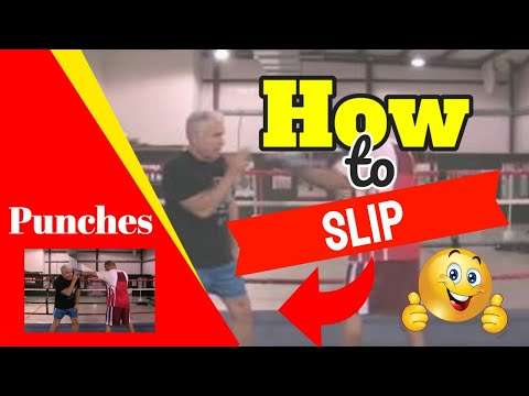 How To Slip Punches - Slipping Punches