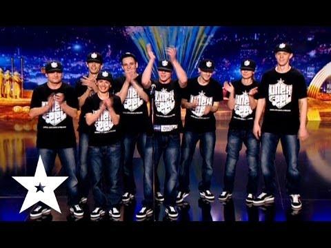 Синхронный танец от коллектива Un Ex Feel - Україна має талант-6 - Кастинг в Днепропетровске
