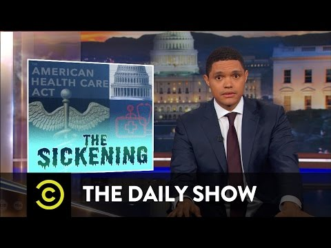 Republicans Can't Get Their S**t Together on Health Care: The Daily Show