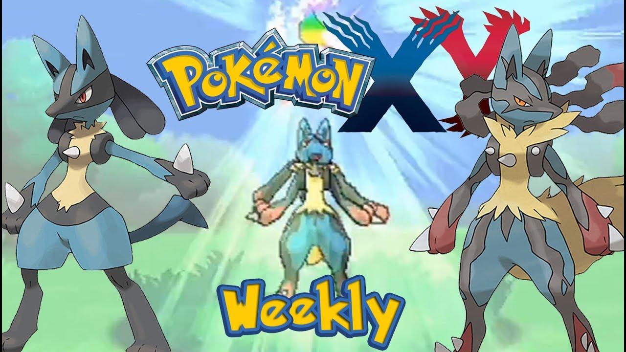 Pokemon X and Y Weekly: Mega Evolution - YouTube